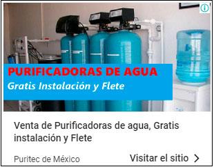 venta de plantas purificadoras de agua